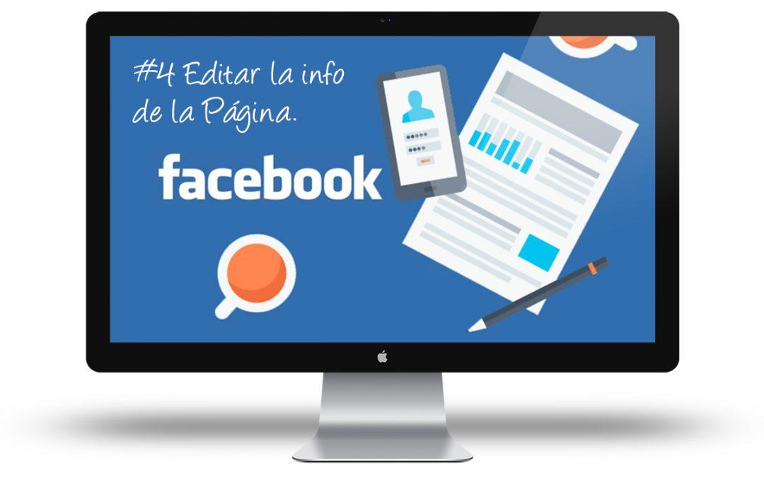 Curso Facebook para Empresas - Edita la informacion de la pagina