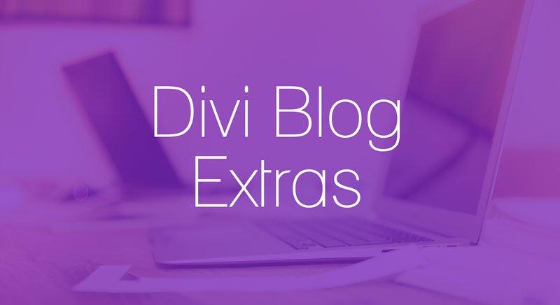 Divi Blog Extras