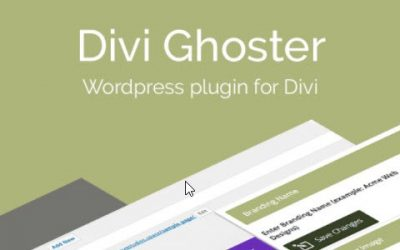 Divi Ghoster