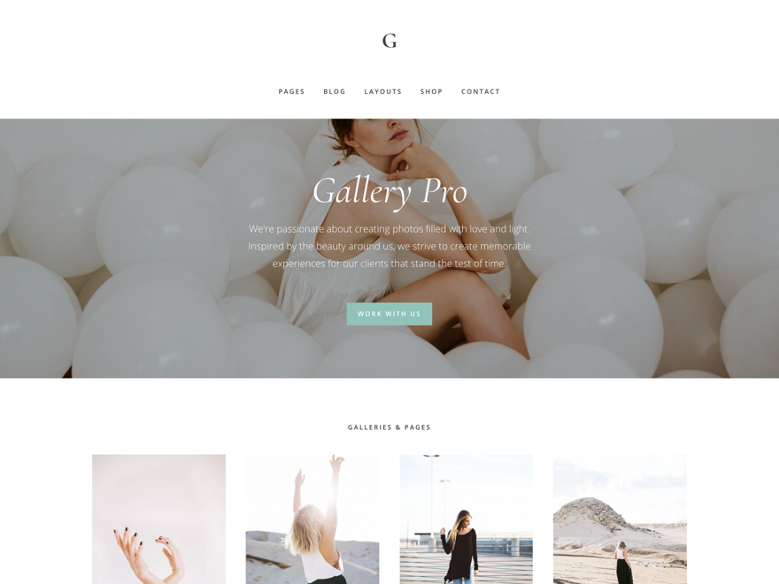 Gallery Pro Theme - Genesis Child Theme