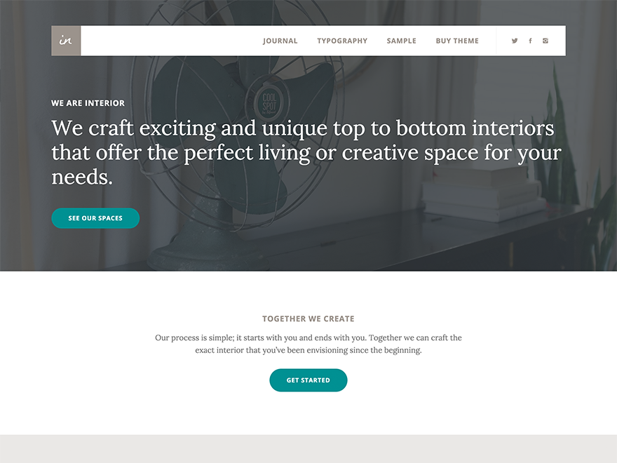 Interior Pro Theme 1.0.0 – Genesis Child Theme