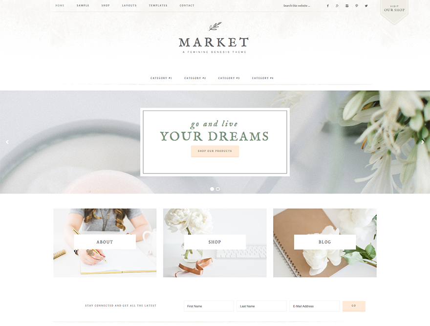 Market Pro Theme - Genesis Child Theme