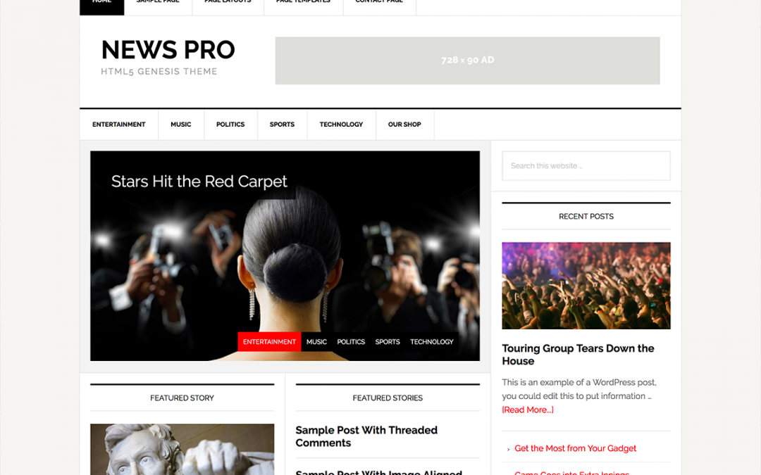 News Pro Theme 3.2.2 – Genesis Child Theme