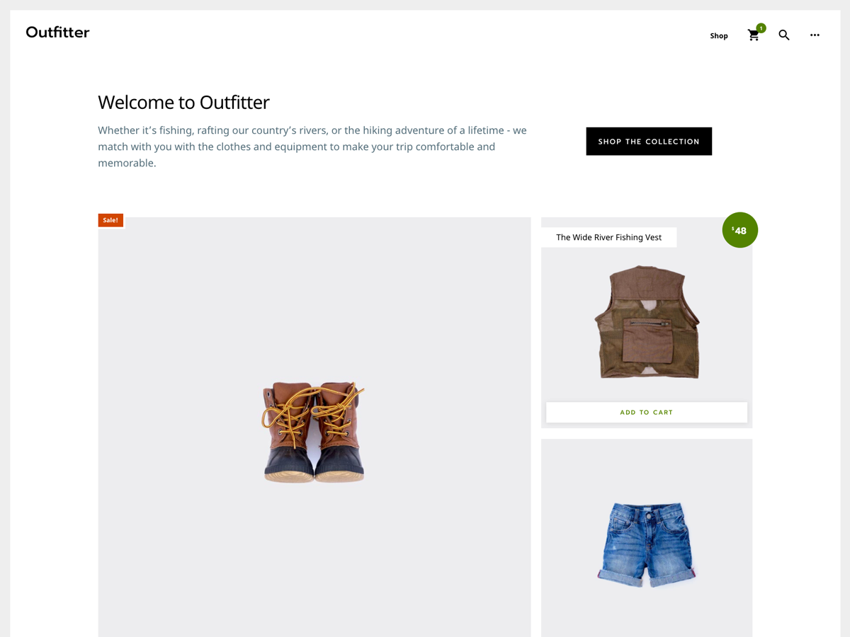 Outfitter Pro Theme- Genesis Child Theme