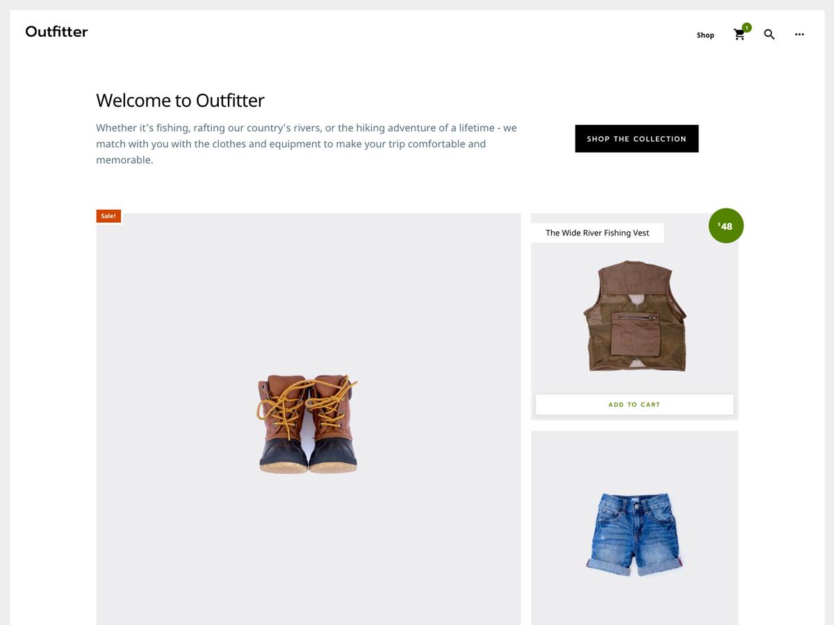 Outfitter Pro Theme- Genesis Child Theme