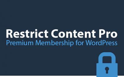 Restrict Content Pro Premium