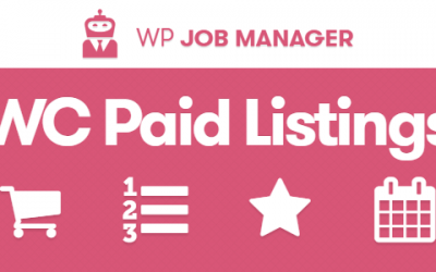 WP Job Manager Listing Payments extension