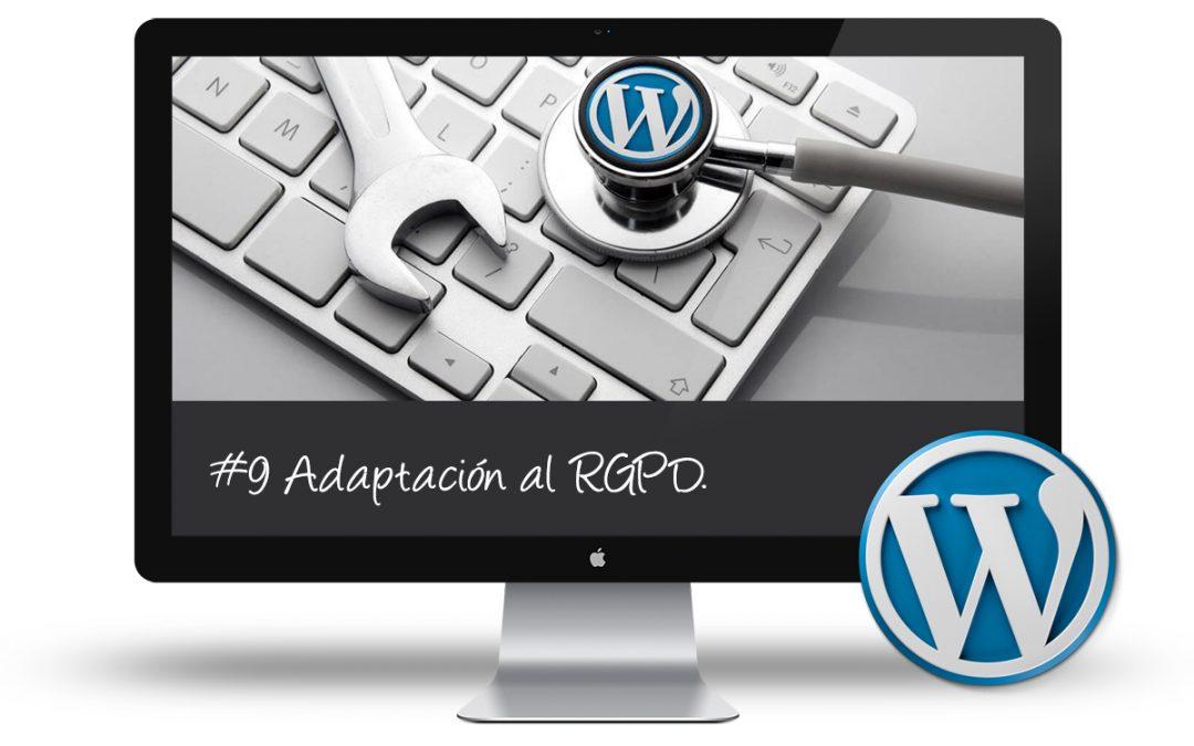 Curso Puesta a Punto WordPress - Adaptacion al RGPD
