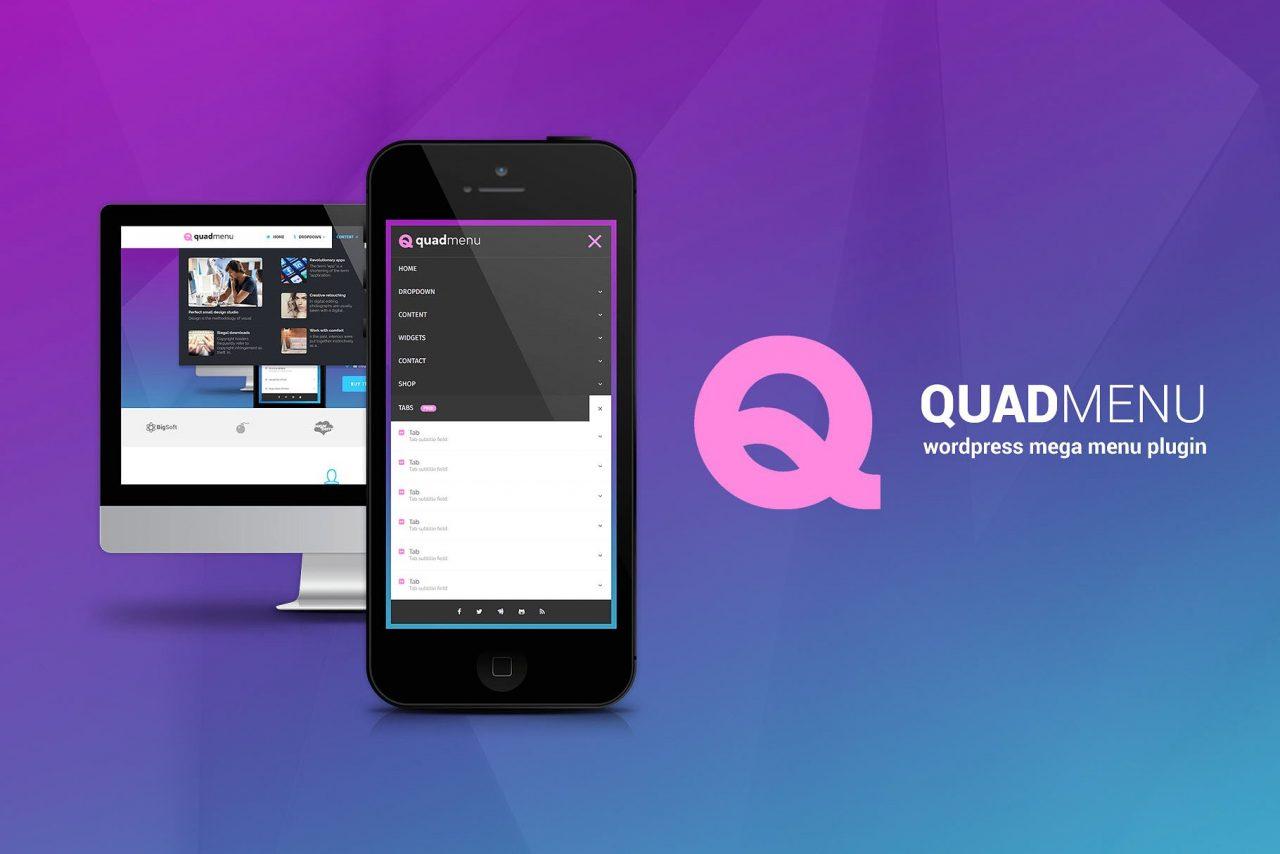 Crear impresionantes mega menus en WordPress con QuadMenu