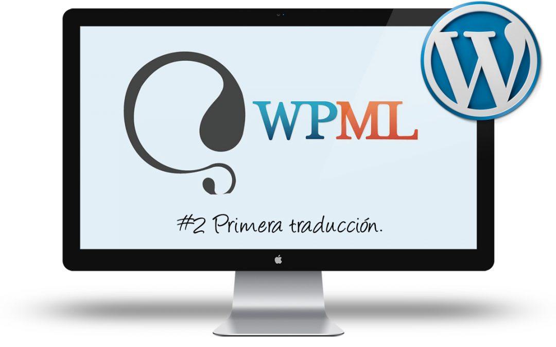 Curso de WPML - Primera traduccion
