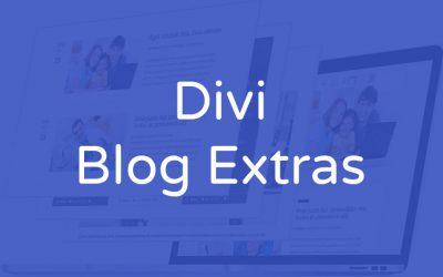 Divi blog extras - Personalizar blog divi