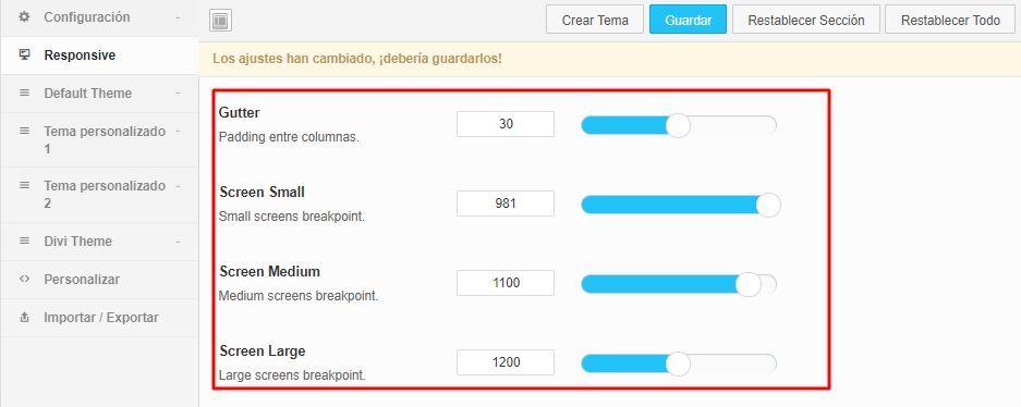 Opcion responsive QuadMenu para WordPress