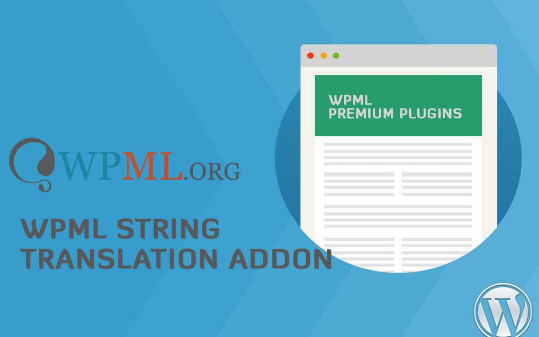 String Translation Plugin 2.8.4 – WP Multilingual