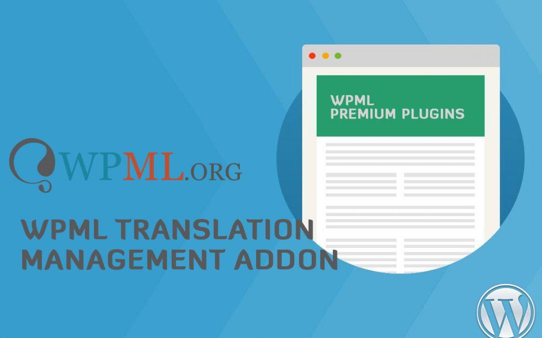 Translation Management Plugin 2.6.4 – WP Multilingual