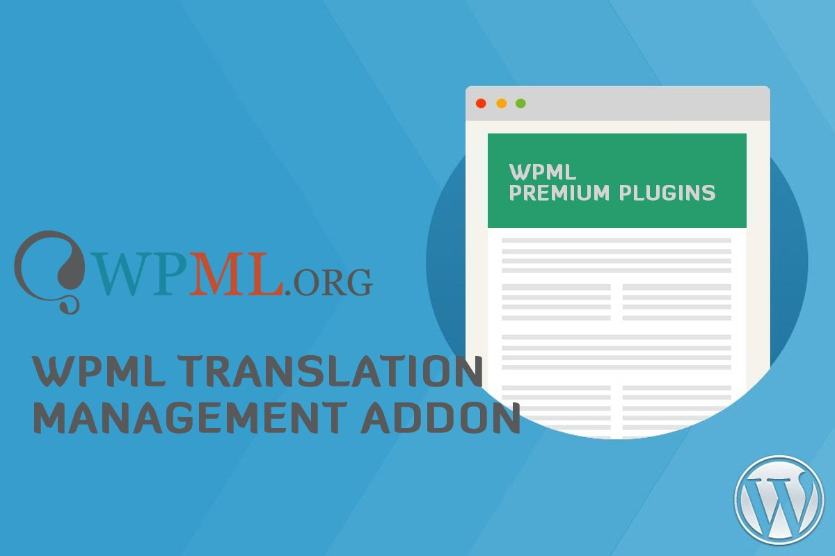 Translation Management Plugin WP Multilingual 2