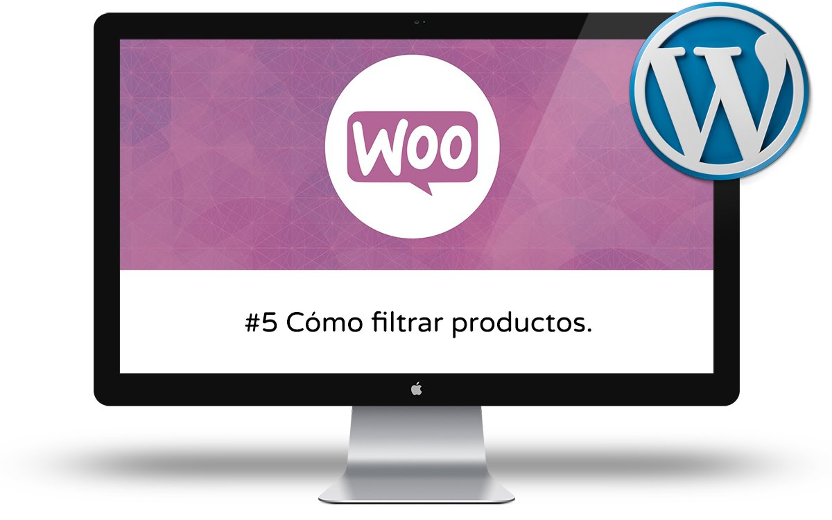 Curso de Woocommerce Intermedio - Como filtrar productos en Woocommerce