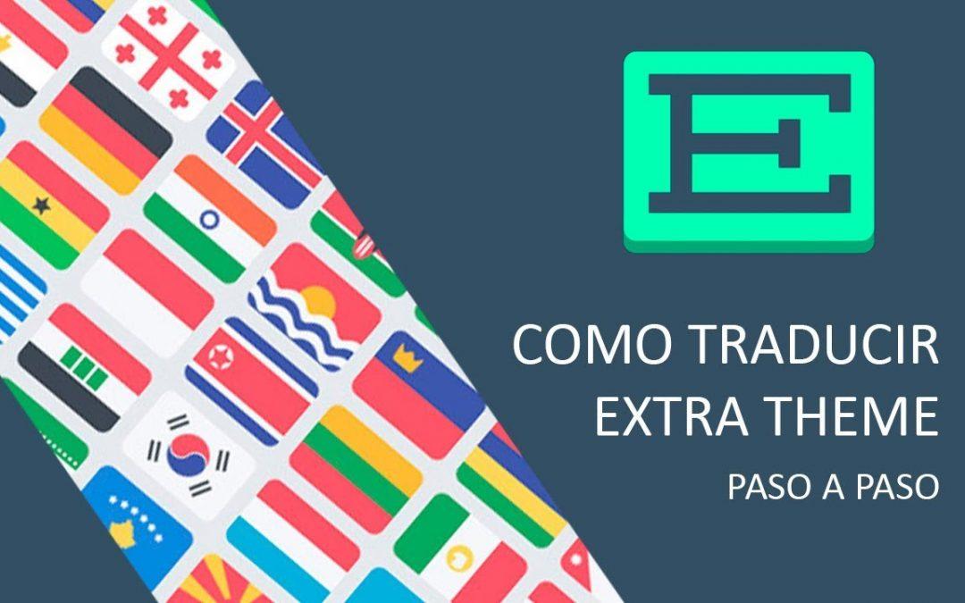 Como traducir el tema Extra de Elegant Themes al español